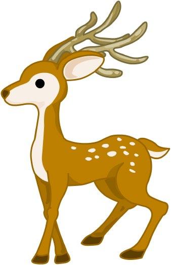 Buck Deer Clipart.