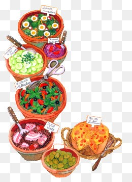 Buffet food clipart 4 » Clipart Portal.