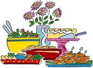 Buffet food clipart 1 » Clipart Portal.