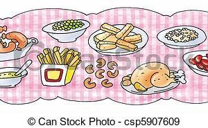 Buffet food clipart 6 » Clipart Portal.