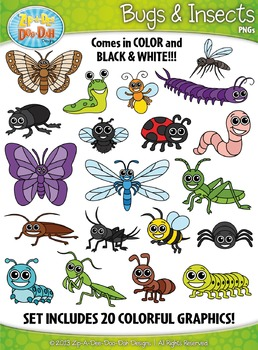 Bugs & Insects Clipart {Zip.