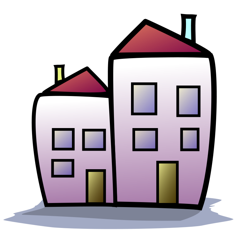 building house clipart.