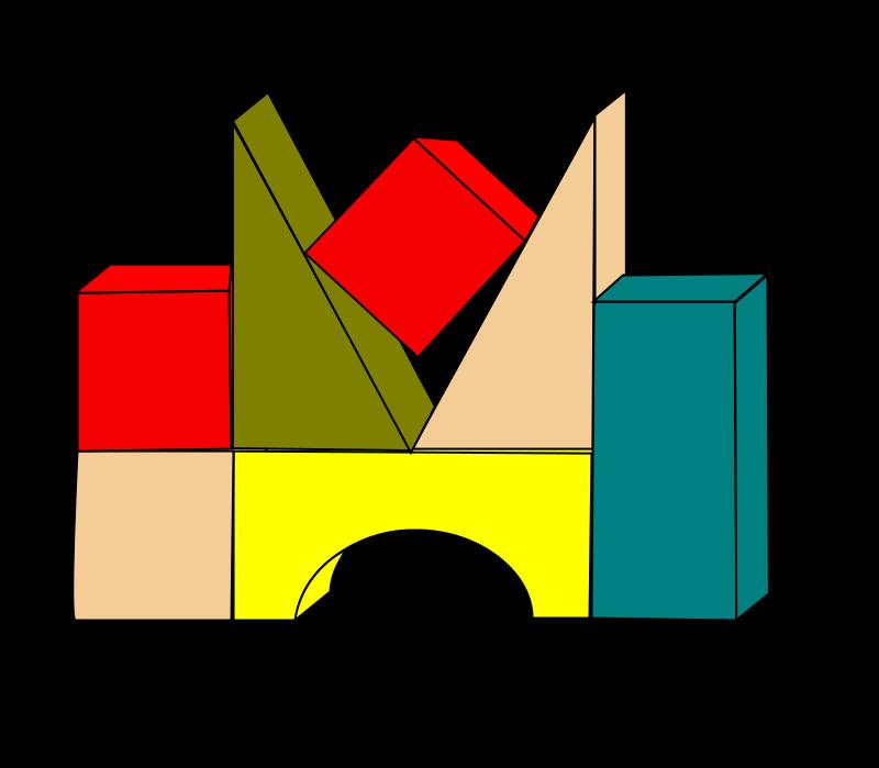 Free Clipart: Building Blocks.