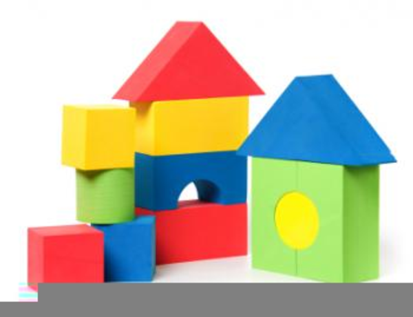 Childrens Building Blocks Clipart.