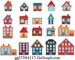 Buildings Clip Art.