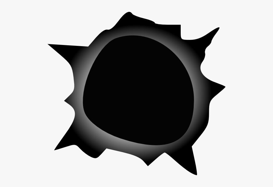 Gradient Edge Bullet Hole Clip Art At Clker.