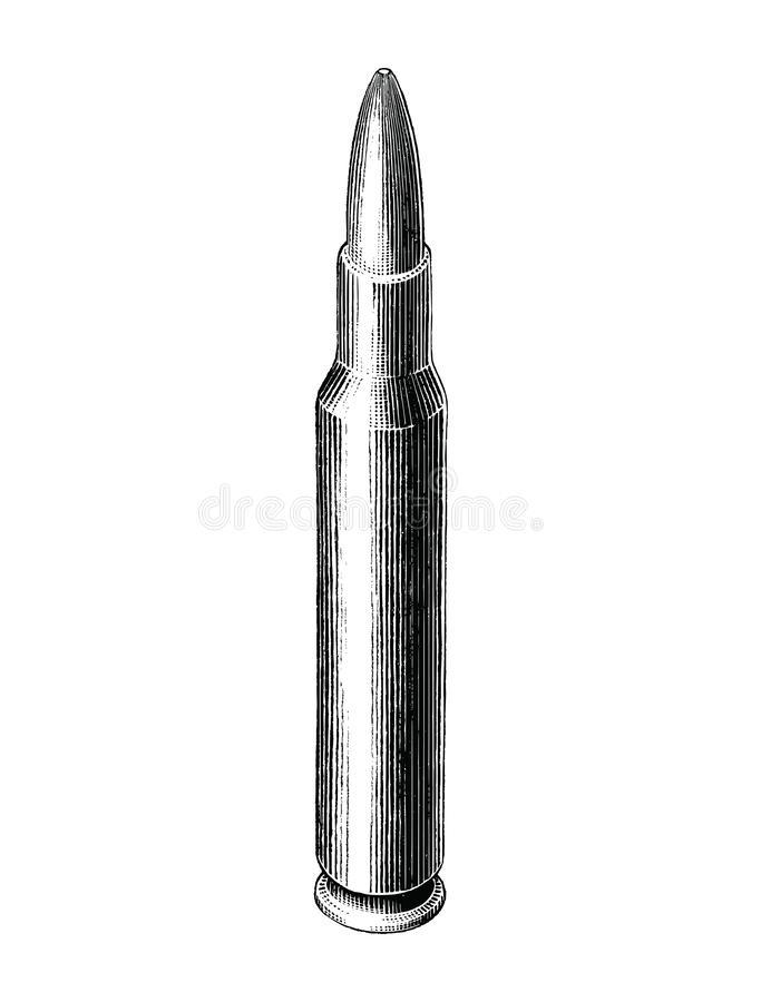 Bullet Clip Stock Illustrations.