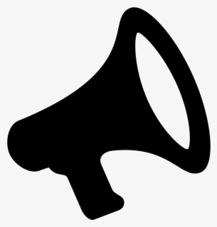 Free Bullhorn Clip Art with No Background.