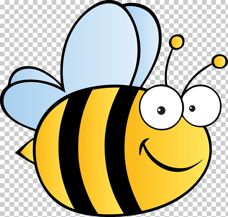 Honey bee Cartoon, bumble bee PNG clipart.