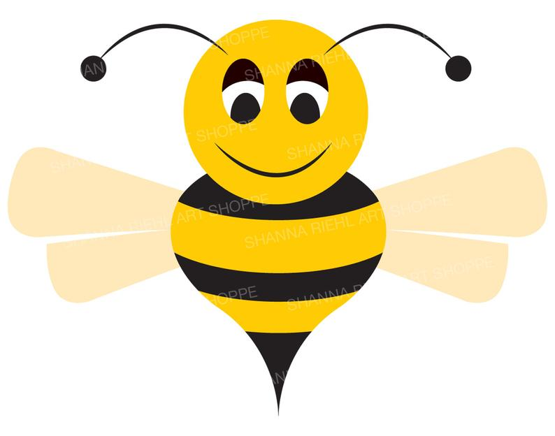 Bumble Bee Clipart.