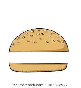 Burger bun clipart » Clipart Portal.