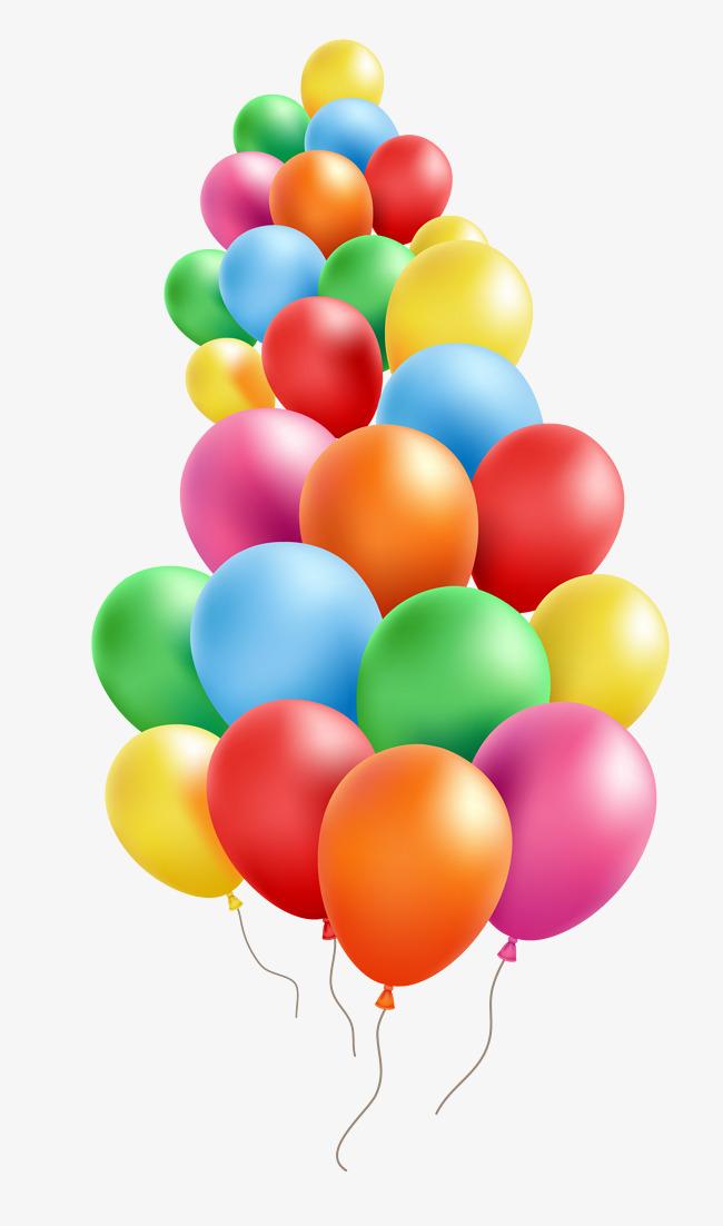 A Big Bunch Of Balloons, Cartoon, Shadow, Playful PNG Transparent.