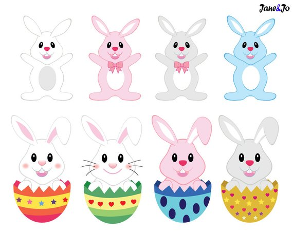 Sale Easter clipart, Easter clip art, Easter bunny clipart,easter.