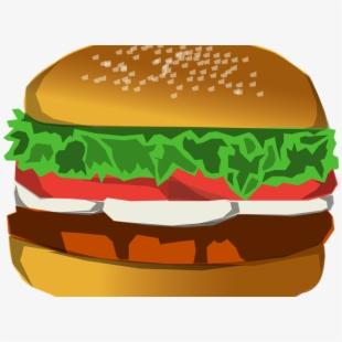 Hamburger Clipart Burger Bun.