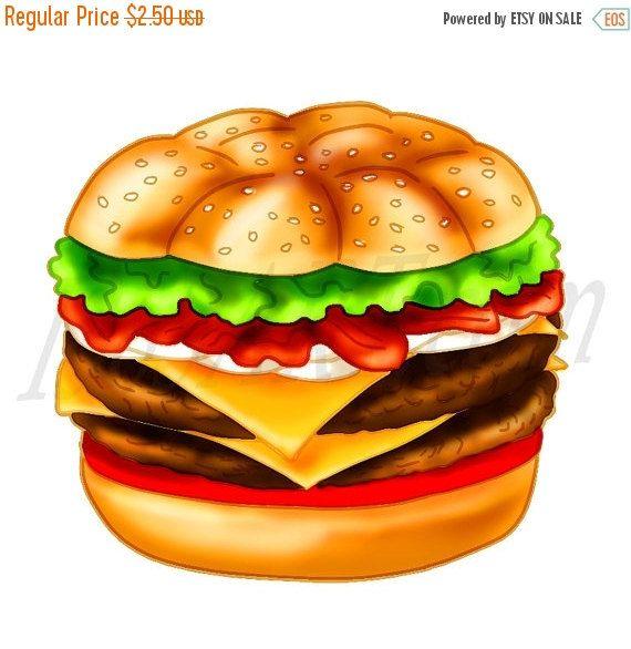 Burger clipart, burger Clip art, Cheeseburger, Hamburger.