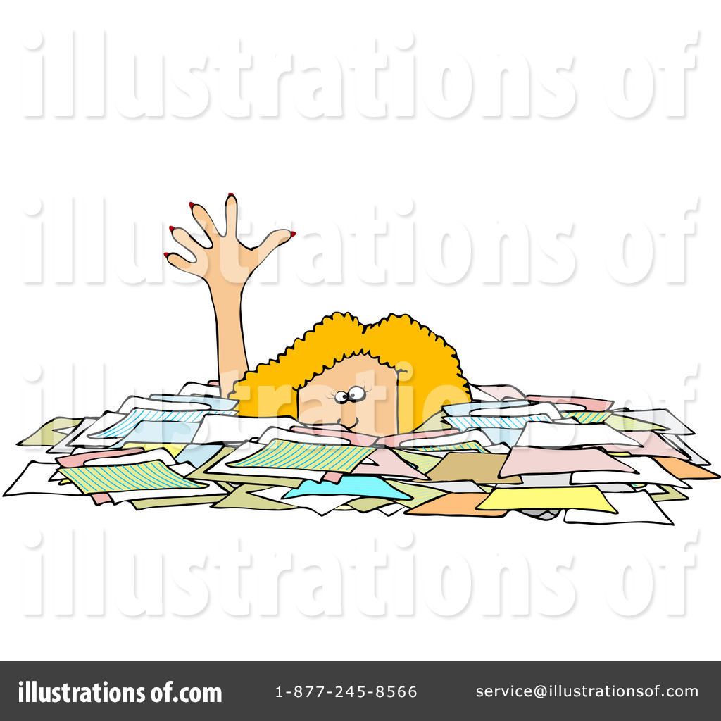 Paperwork Clipart Free.