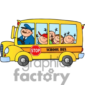 Free Clip Art School Bus.