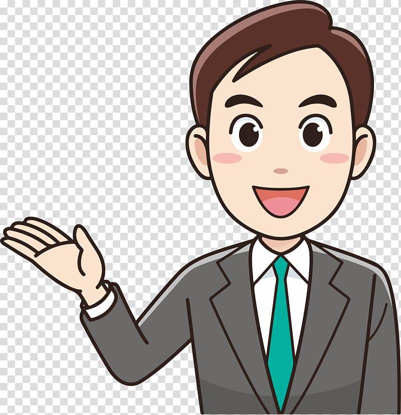ビジネスマン Business , Businessman transparent background.