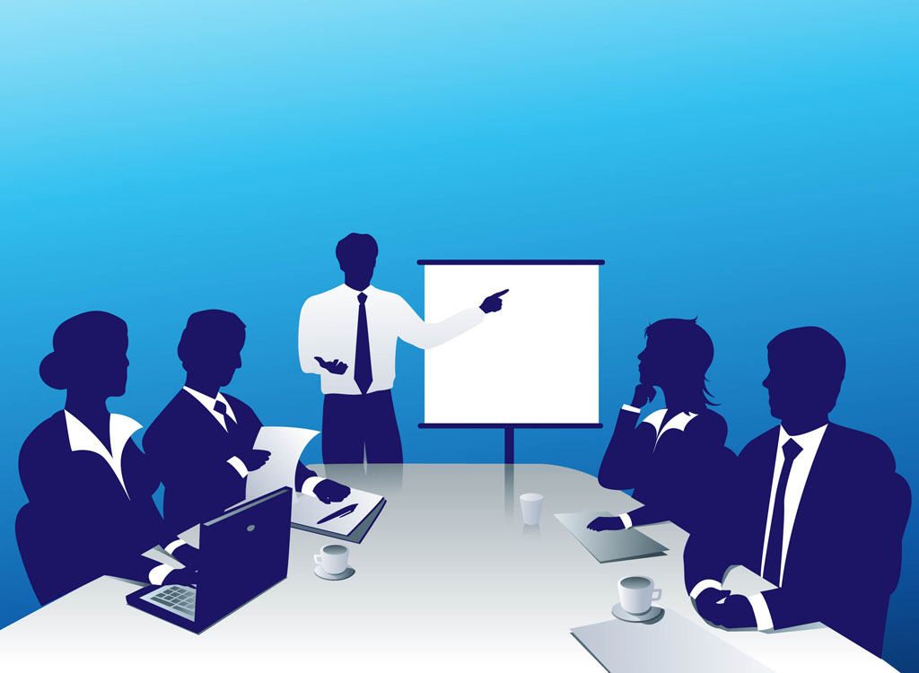 Business Meeting Clipart Images.