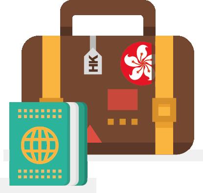 Hong Kong Visa Application Form.