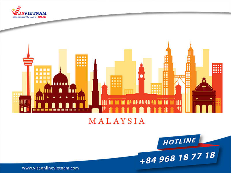 Requirements for foreigners about Vietnam visa in Malaysia.