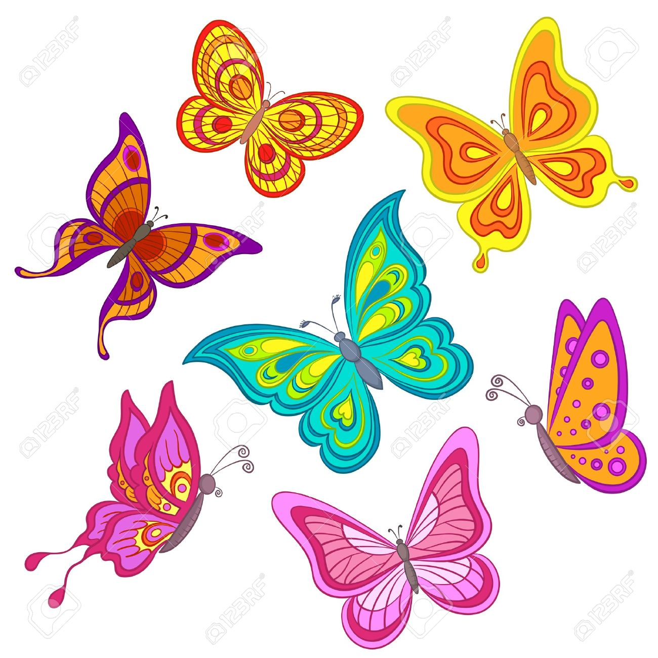 3,784 Monarch Butterfly Stock Vector Illustration And Royalty Free.