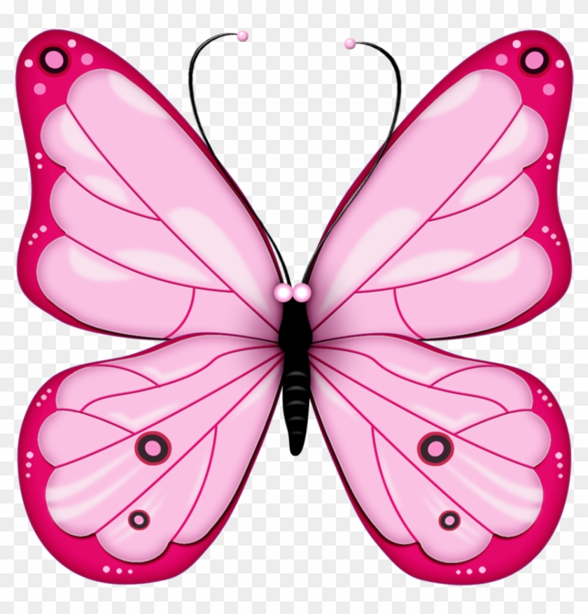Pink Butterfly Png Image, Butterflies.