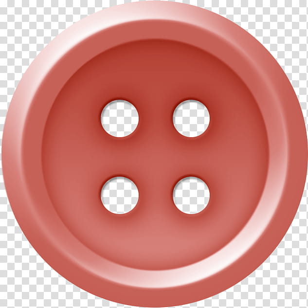 Buttons , round red.
