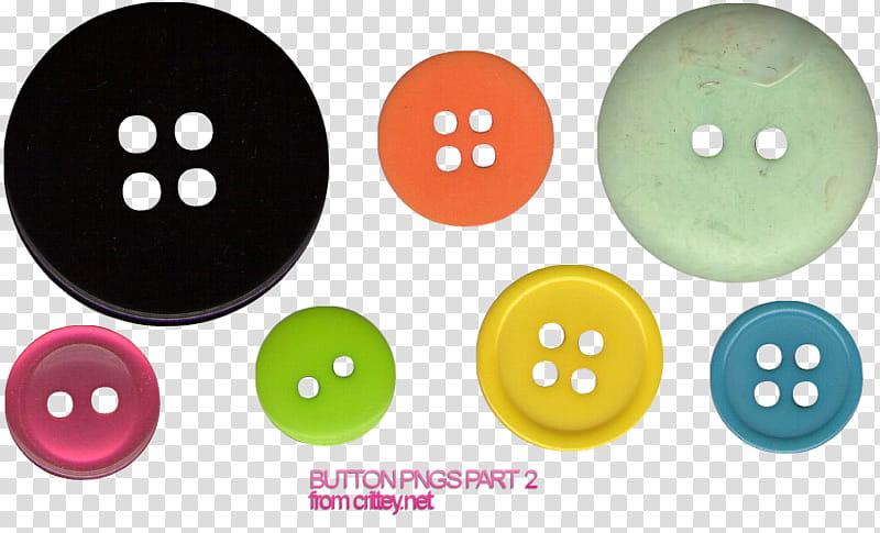 Buttons part transparent background PNG clipart.