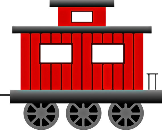 Train caboose clipart » Clipart Station.
