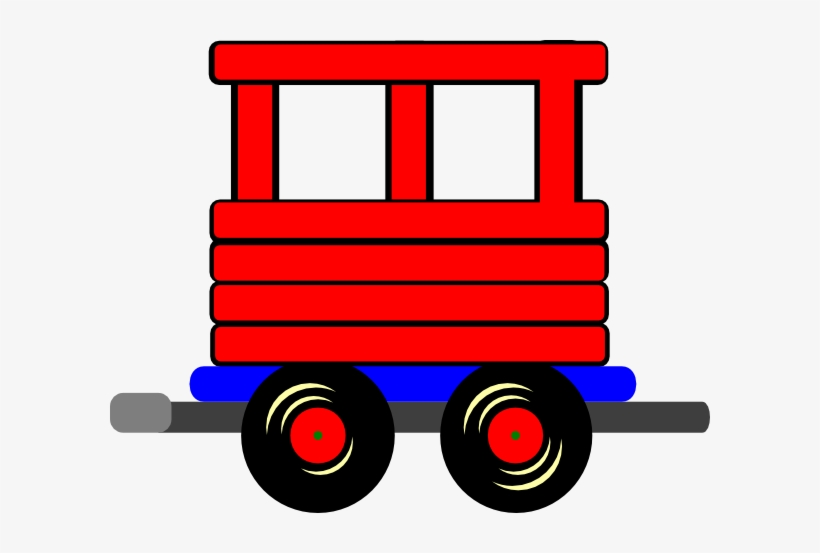 Train Clipart Car Caboose PNG Image Exotic Nice 13.