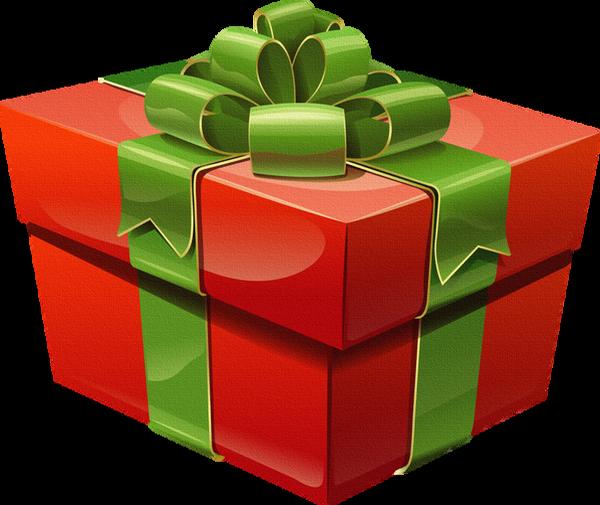 ❄️ Noël, cadeau png, tube / Christmas gift clipart ❄️.