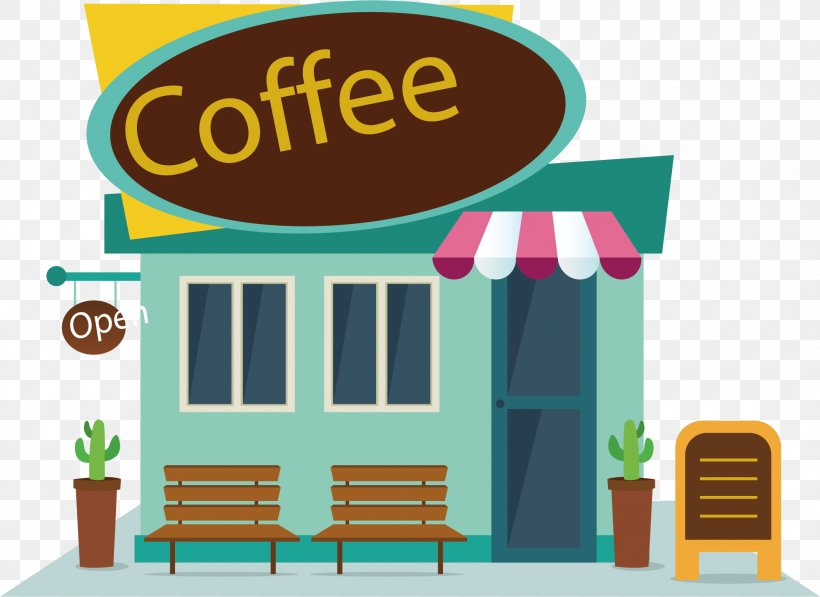 Coffee Cafe Fast Food Clip Art, PNG, 2100x1530px, Coffee.
