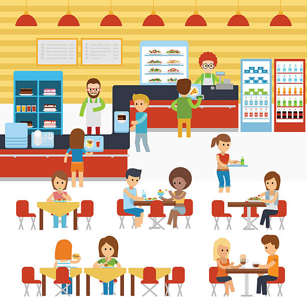 Cafeteria clipart 5 » Clipart Station.