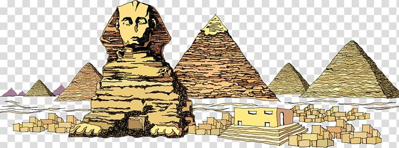 Great Sphinx of Giza Great Pyramid of Giza Egyptian pyramids.