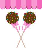 Cake Pop Stock Illustrations.