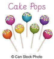 Cake pop Clip Art Vector Graphics. 468 Cake pop EPS clipart vector.