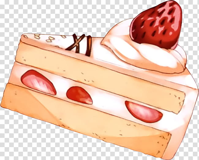 Especial Navidad, slice of cake illustration transparent.