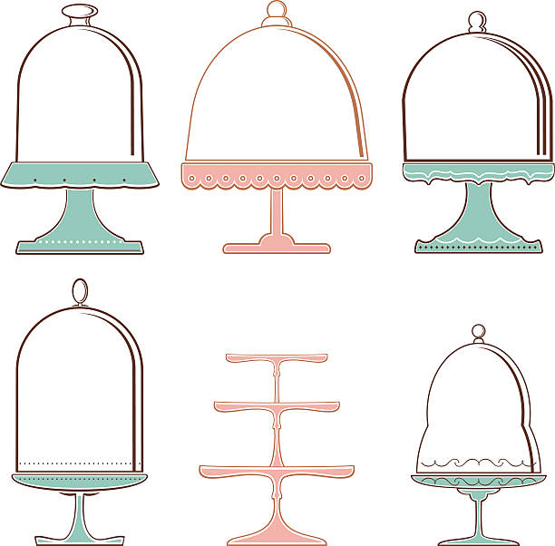 Empty Cake Stand Clipart.