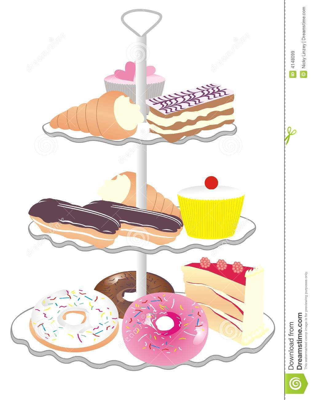 Cake stand clipart 7 » Clipart Station.