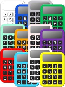 Calculator Clipart.