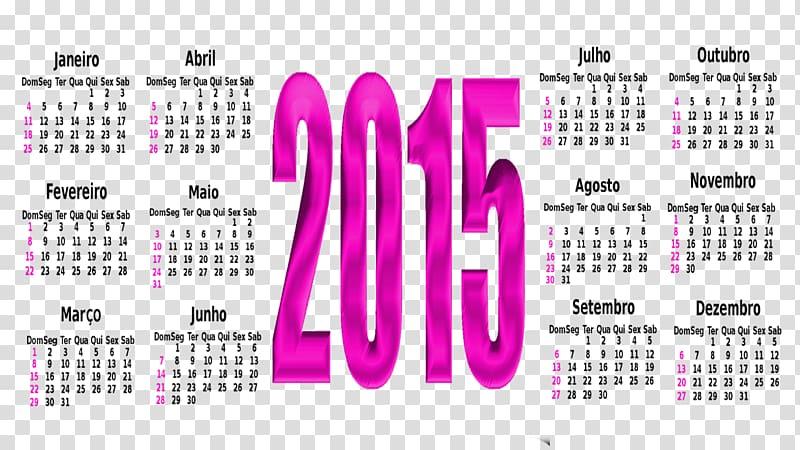 Calendar Art Blog Graphic design, 2015 transparent.