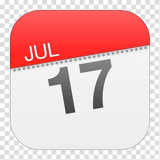 IOS Icons Updated , Calendar, July calendar date art.