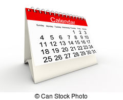 Clipart calendrier 3 » Clipart Station.