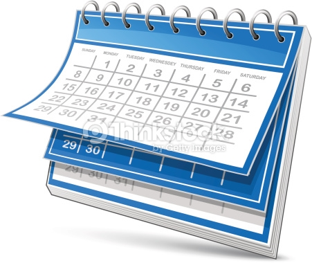 Clipart calendrier 2 » Clipart Station.