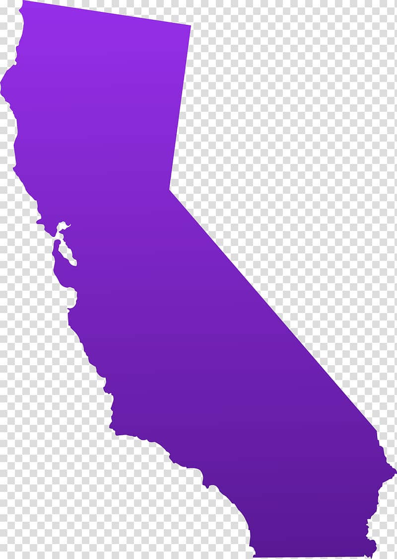 California Blank map , Ca transparent background PNG clipart.
