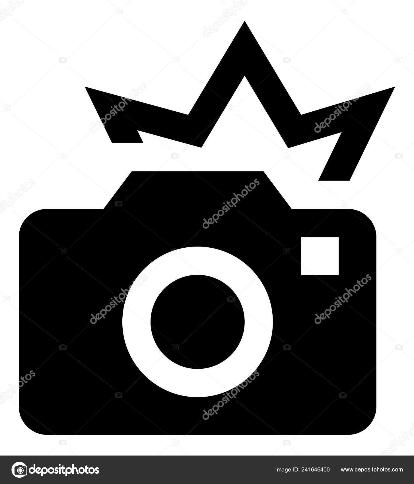 Clipart: camera flash.
