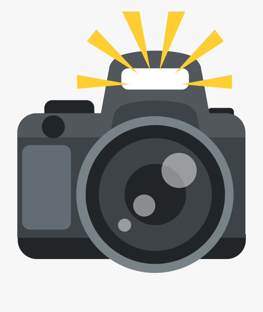 Camera With Flash.