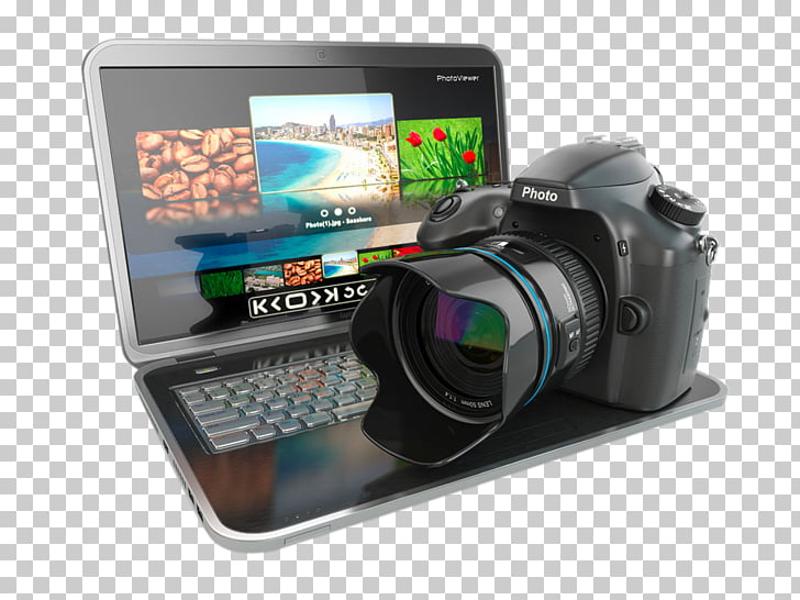 Digital photography Camera, HD laptop PNG clipart.