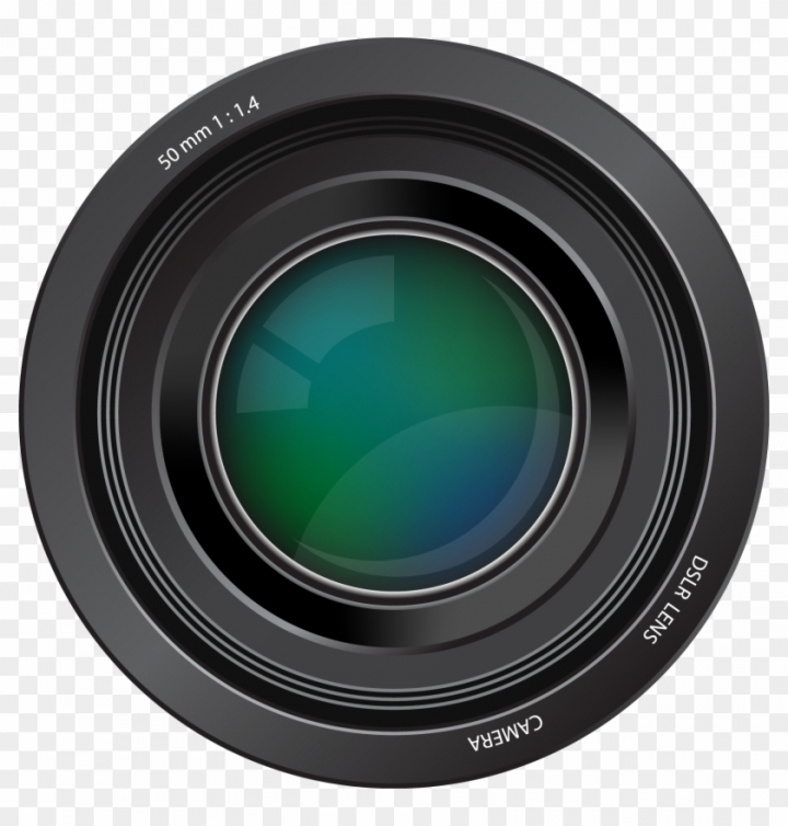 Lens Clipart Camera Lense.